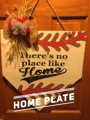 """Home Plate / choose """"Just Like Picture"""" option for font $35 Adult Shape"""