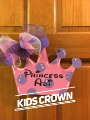 Kids Crown / Disney font $15 kids shape
