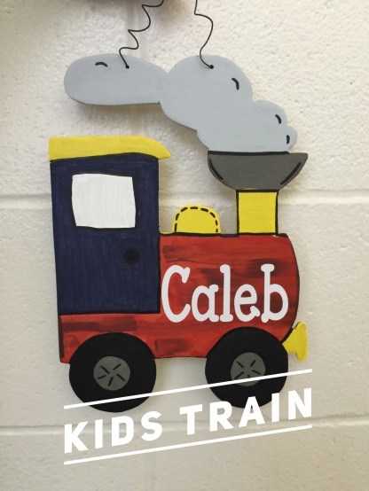 Kids Train / Janda Closer font $15 kids shape