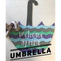 Umbrella / AR Hermann font $35 Adult Shape