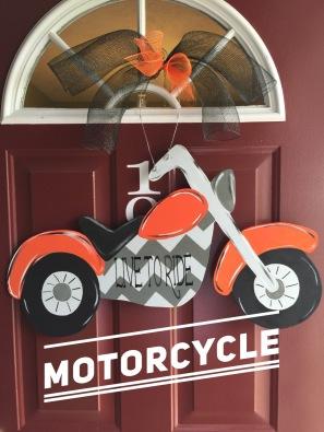 Motorcycle / Dead Hardy $35 Adult Shape