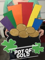 Pot of Gold / $35 Adult Shape