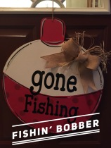 Fishin' Bobber / Janda Closer Font $35 Adult Shape