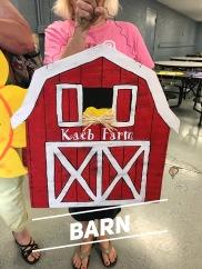 Barn / AR Hermann font $35 Adult Shape