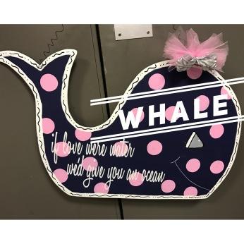 Whale / Honey Script font $35 Adult Shape