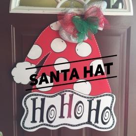 Santa Hat / ActionIs font $35 Adult Shape