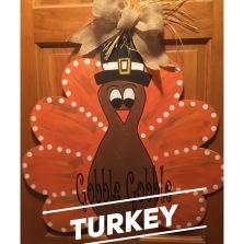 Turkey / Curlz font $35 Adult Shape