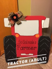 Tractor / Janda Closer font $35 Adult Shape
