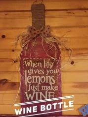 Wine Bottle / Romance Fatal Serif font $35 Adult Shape