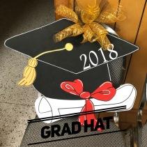 Grad Hat $35 Adult Shape