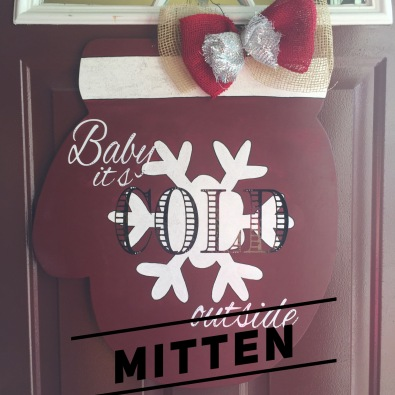 "Mitten / Choose ""Just like picture"" for font option $35 Adult Shape"