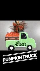 Pumpkin Truck / Apple Butter font $35 Adult Shape