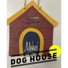 Dog House / Janda Closer and Honey Script (Mohns') Fonts $35 Adult Shape
