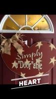 "Heart / Pristina (Simply) Romance Fatal Serif (a""Door""able) $35 Adult Shape"