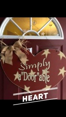 "Heart / Pristina (Simply) Romance Fatal Serif (a""Door""able) $35 Adult Shape"