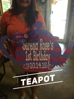 Tea pot / Janda Closer font $35 Adult Shape
