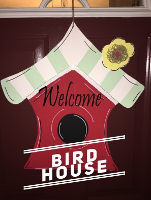 Bird House / Pristina Font $35 Adult Shape