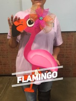 Flamingo / $35 Adult Shape