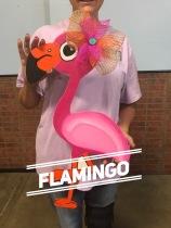 Flamingo / $35 Adult Shape