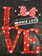 Minnie Love / Disney font $35 Adult Shape