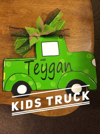 Kids Truck / Segeo font $15 kids shape