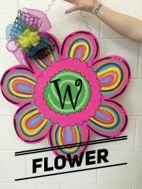 Flower / Curlz font $35 Adult Shape