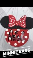 Minnie Ears / Disney font $35 Adult Shape