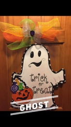 Ghost / Curley Shirley Font $35 Adult Shape