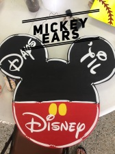Mickey Ears / Disney font $35 Adult Shape
