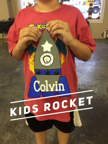 Kids Rocket / Janda Closer font $15 kids shape
