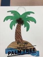 Palm Tree / AR Christy font $35 Adult Shape
