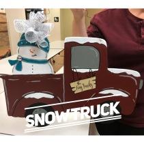 Snow Truck / Magnolia Sky font $35 Adult Shape