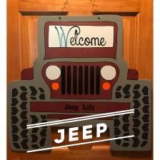 Jeep / Xiomara font $35 Adult Shape