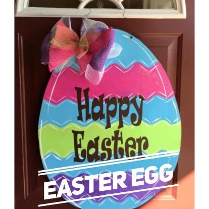 Easter Egg / Ravie Font $35 Adult Shape