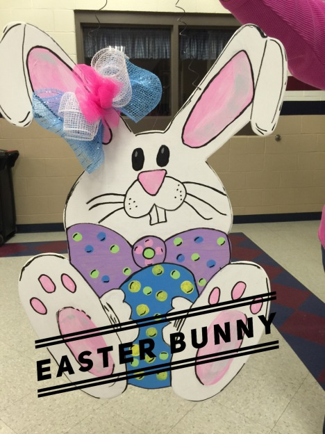 Easter Bunny $35 Adult Shape