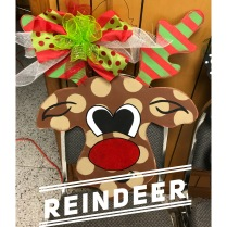 Riendeer / $35 Adult Shape