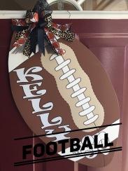 Football / Ravie Font $35 Adult Shape