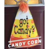 Candy Corn / Janda Closer Font $35 Adult Shape