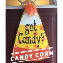 Candy Corn / Janda Closer Font $35 Adult Shape