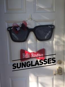 Sun Glasses / AR Hermann font $35 Adult Shape