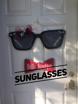 Sun Glasses / AR Hermann font $35 Adult Shape