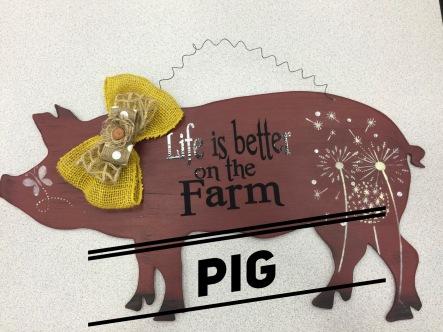 Pig / Romance Fatal Serif font $35 Adult Shape