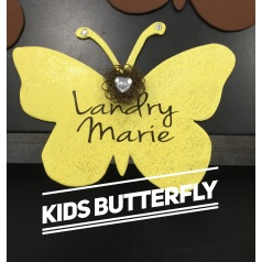 Kids Butterfly / Jenna Sue Font $15 Kids shape