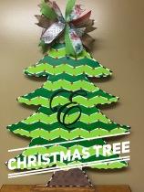 Christmas Tree / Edwardian Script font $35 Adult Shape