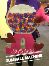 Gumball Machine / Majestic Font $35 Adult Shape