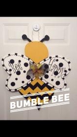 Bumble Bee / Curlz font $35 Adult Shape