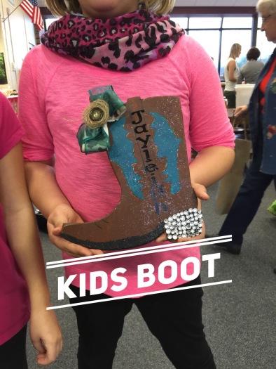 Kids Boot / Janda Closer font $15 kids shape