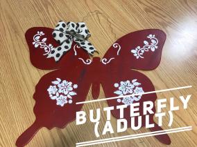 Butterfly / $35 Adult Shape