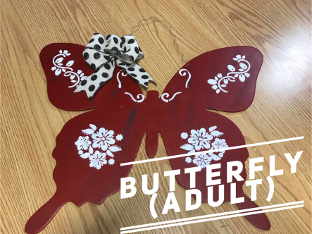 Butterfly / $35 Adult Shape