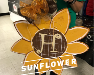 Sunflower / Curlz Font $35 Adult Shape